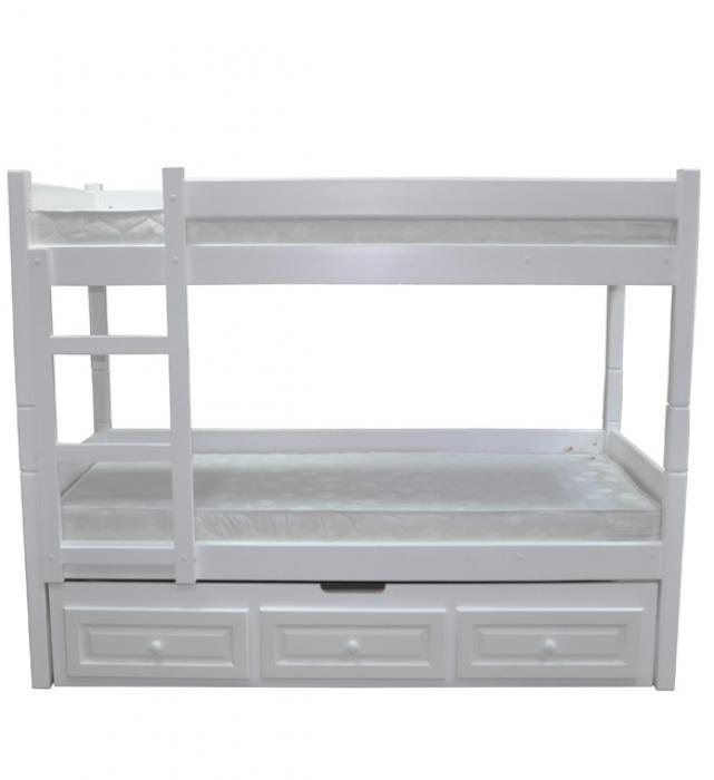 Двоярусне ліжко Л-306 з додатковим ліжком