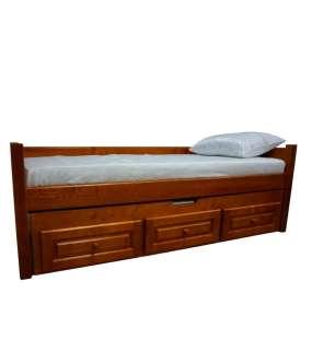 Односпальне ліжко Л-136-А з додатковим ліжком